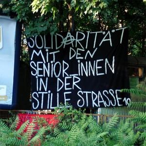 Solidarische Grüße vom Wagenplatz 'Rummelplatz'